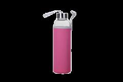 ECOfeel Lasijuomapullo pinkki 550 ml