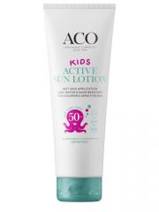 ACO SUN Kids Active sun lotion spf 50+ big size 250 ml