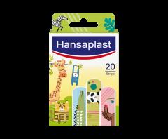 HANSAPLAST ANIMAL PLASTERS KIDS 20 KPL